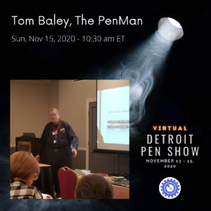 Spotlight The PenMan Tom Baley DETPS20202